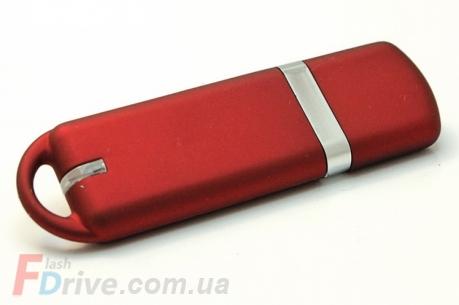 красная флешка из пластика