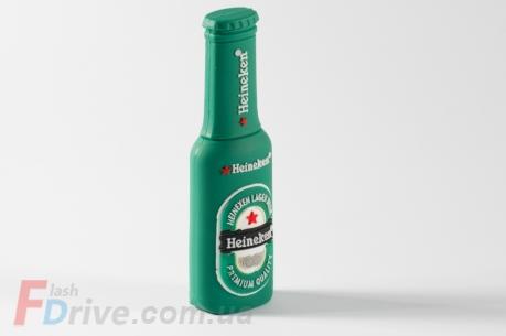 Флешка в форме бутылки пива