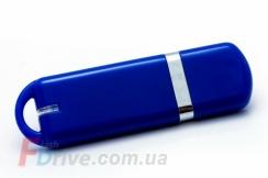синяя пластиковая флешка