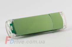 Зеленая комбинированная флешка
