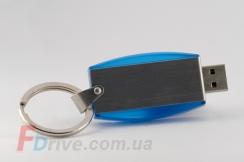 Синяя комбинированная флешка