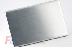 Металлическая флешка-карточка