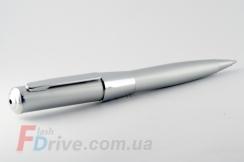 Стальная флешка ручка