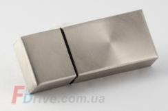 Полированная стальная флешка