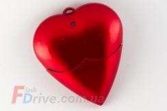 Флешка в виде сердца