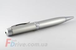Флешка (ручка) металлик с лазерной указкой